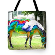 Catch A Painted Pony Tote Bag
