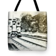 Catch That Train Tote Bag