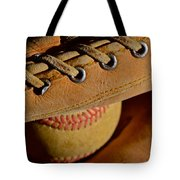 Catcher's Mitt Tote Bag