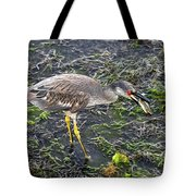 Catching Crab Tote Bag