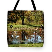Catching Frogs Tote Bag