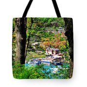 Catching Glimpses Of The Maid Tote Bag