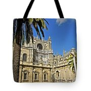 Catedral De Santa Maria De La Sede - Sevilla Tote Bag