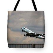 Cathay Pacific B-747-400 Tote Bag