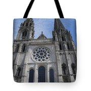 Cathedral At Chartres Tote Bag