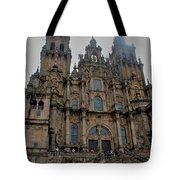Cathedral At Santiago De Compostela Tote Bag