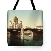 Cathedral Of Christ The Saviour - Moscow Russia Tote Bag