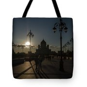 Cathedral Of Christ The Saviour Tote Bag