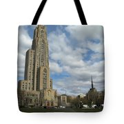 Cathedral Of Learning Pittsburgh Tote Bag