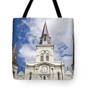 Cathedral Of Saint Louis Tote Bag