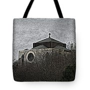 Cathedral On The Hill Tote Bag