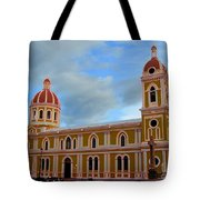 Cathedral On The Square Tote Bag