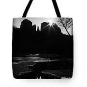 Cathedral Rock Sunrise Sedona Arizona Tote Bag