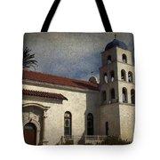 Catholic Church Old Town San Diego Tote Bag