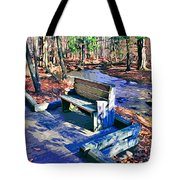 Catoctin Bench Tote Bag