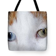 Cats Eyes Multi Colored Tote Bag