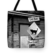 Cats Xing Tote Bag