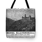 Catskills Hotel, 1884 Tote Bag