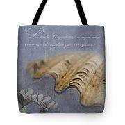 Catspaw Seashell Tote Bag