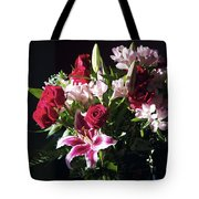 Caught In The Light Tote Bag