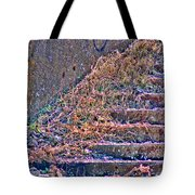 Caution Broken Stairs Tote Bag