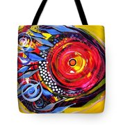 Cautionary Carnival Fish Tote Bag