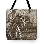 Cavalry Rides Again Tote Bag