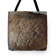 Cave Art: Incised Rock Tote Bag