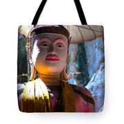 Cave Buddha Tote Bag by Adrian Evans