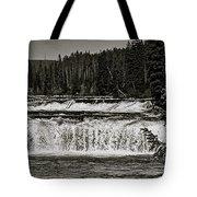 Cave Falls Tote Bag