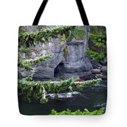 Cave Of The Bay Tote Bag
