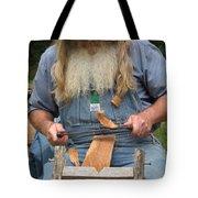 Cedar Shake Shavings Tote Bag