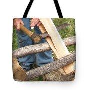 Cedar Shake Shingle Tote Bag