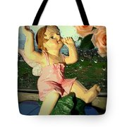 Celebrate The Rain With Roses 2 Tote Bag