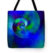 Celestial Nautilus Tote Bag
