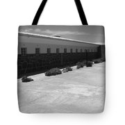 Prison Cell Row Tote Bag