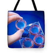 Cellular Model Of Nutrient Absorption Tote Bag