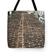 Cemetary Path Tote Bag