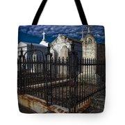 Cemetery Landscape Tote Bag