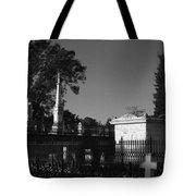Cemetery- Natchez Mississippi Tote Bag