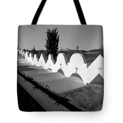 Cemetery Spain Three Tote Bag