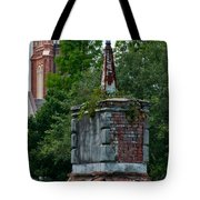 Cemetery Spires Tote Bag