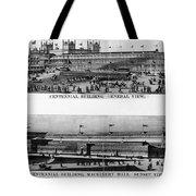 Centennial Expo, 1876 Tote Bag by Granger