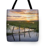 Centennial Sunset Tote Bag