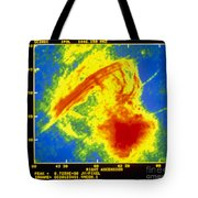 Center Of The Galaxy Radio Image Tote Bag