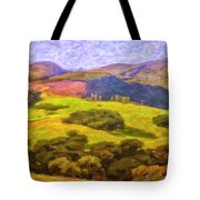Central Coast Wine Country Tote Bag