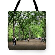 Central Park Arbor Walk Spring Tote Bag