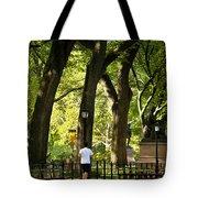Central Park Jogging Tote Bag
