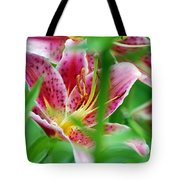 Central Park Lily Tote Bag
