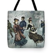 Central Park, Nyc, 1877 Tote Bag